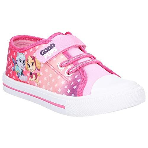 Leomil Paw Patrol Childrens/Kids Touch Fastening Shoe (12.5 M US Little Kid) (Fuchsia)