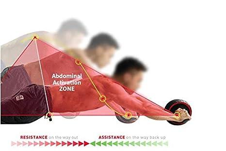 My Fitness Insider - Rueda de Entrenamiento Abdominal, AB Wheel, AB Roller, Ejercicios Abdominales Pesas, Abdominales con Alfombra Grueso para Rodilla + ...