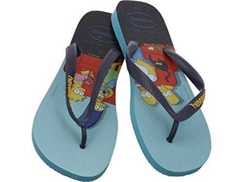Chanclas 0031 Estampadas para Havaianas Unisex Simpsons Adulto blue 4137889 8RqRU5wSn