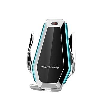 FOWYJ Cargador inalámbrico rápido para automóvil, Soporte de ...