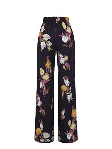 Rinascimento Pantalón Pantalón Mujer Mujer Negro Pantalón Negro Negro Rinascimento Rinascimento Para Para Para Rinascimento Mujer vR8dw8q