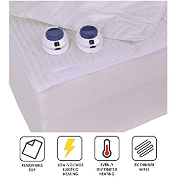 Amazon Com Serta Smart Heated Removable Top Mattress