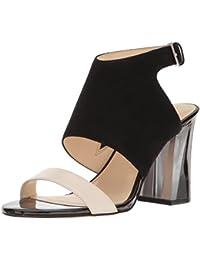 Nine West Women's Moshpit Suede Dress Sandal