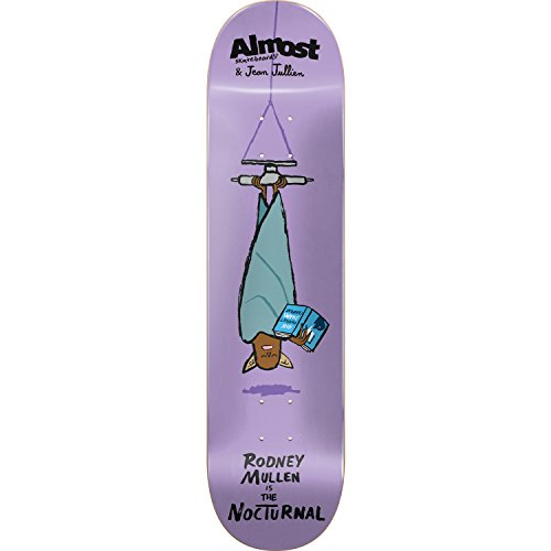Almost Skateboards Rodney Mullen Jean Jullien Monster Skateboard Deck Resin 7 - 8.12