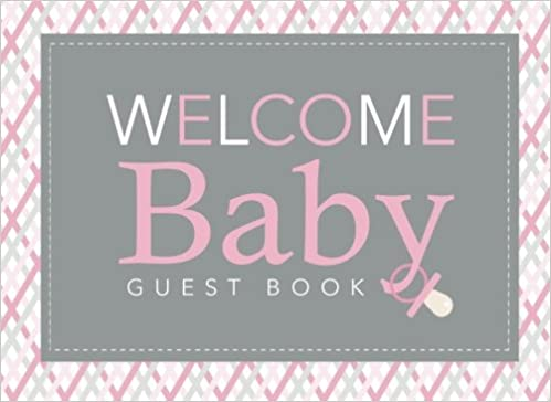 baby shower guest book welcome baby baby shower registry book baby shower gift amazoncom books