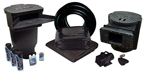 HALF OFF PONDS Savio Signature Series Water Garden and Pond Kit, Large with 20 Foot x 25 Foot PVC Liner