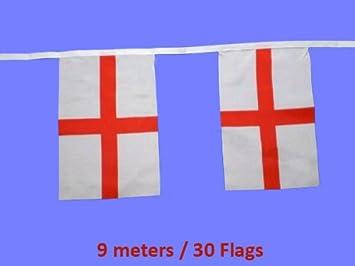Militaria Sports and Great Britain Flag Bunting 9 metre