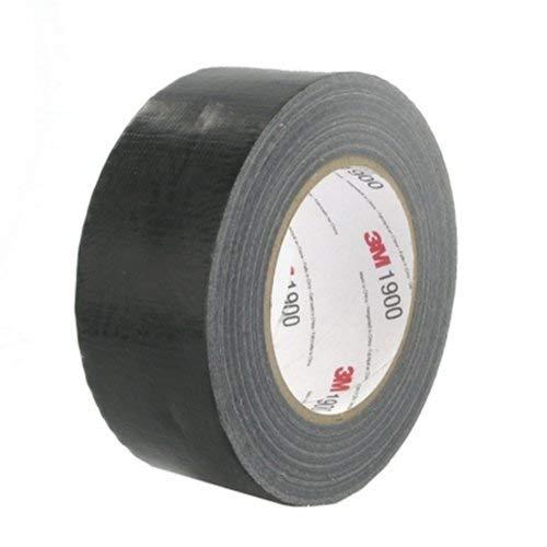 schwarz 1-er Pack 19 mm x 50 m 3M Premium Gewebeklebeband 389