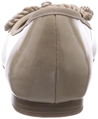 Marco Tozzi 42408 - Bailarinas de material sintético para niña beige - Beige (Dune / 405)