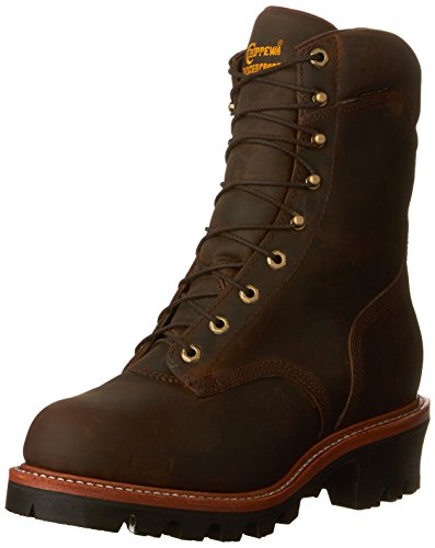 Chippewa Logger Boots (Chippewa Men's 25406 Super Logger Waterproof Boot,Bay Apache,10 E US)
