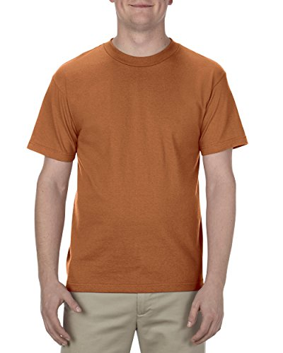 (Alstyle Apparel AAA Men's Classic T-Shirt, Texas Orange, Large)