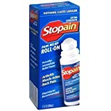 PACK OF 3 EACH STOPAIN EXTRA STRENGTH ROLL-ON 3OZ PT#72490963303