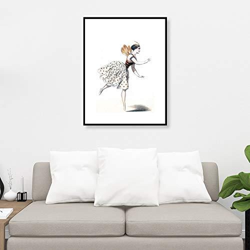 Picsdream Unframed Lithograph Print Queen Bees on Matte Paper