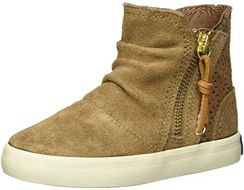 Sneakers Boots For Girls - SPERRY Girls' Crest Zone Sneaker, Chestnut,