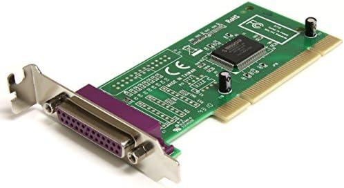 StarTech.com 1 Port PCI Parallel DB25 Schnittstellenkarte - Low Profile