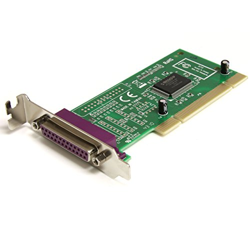 StarTech 1-Port Low-Profile PCI Parallel Adapter Card Green PCI1P-LP