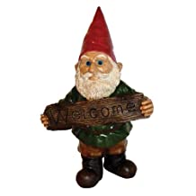 Michael Carr Designs 80044 Garrold Gnome, Welcome