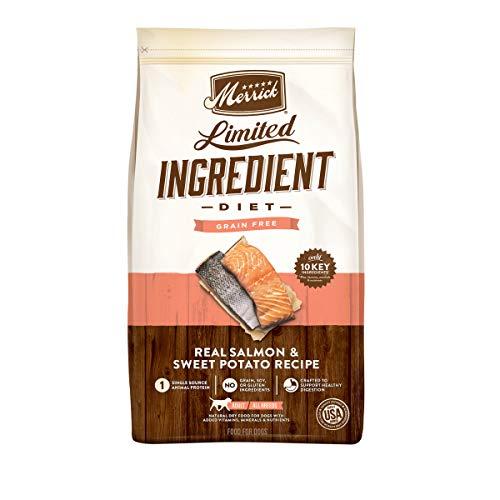 Merrick Limited Ingredient Diet Grain Free Dry Dog Food Real Salmon & Sweet Potato Recipe – 22.0 lb Bag