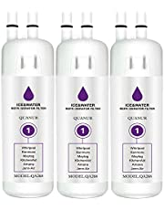 Refrigerator Water Filter 1 Compatible with Whirlpool W10295370A, W10295370, Kenmore 46-9930, Kenmore 46-9081 and EDR1RXD1 Water Filter(3 Pack,White)
