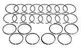 Hastings Piston Rings 139040 8-Cyl Ring Set
