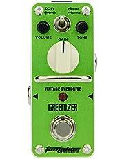 Aroma Music Tom´sline Engineering ATP 3 - Pedal de efecto de sobremarcha, Verde