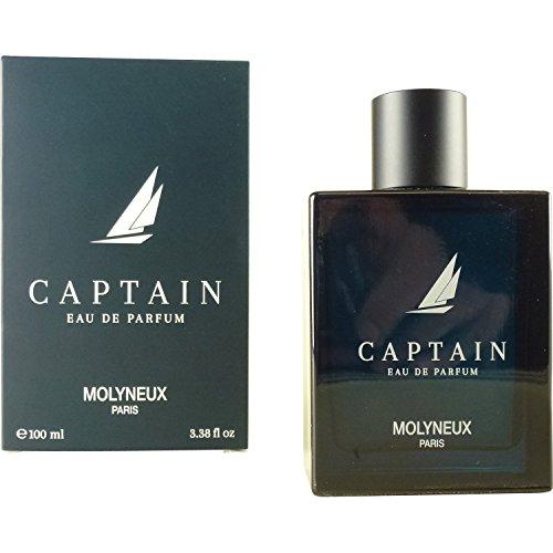 Captain By MOLYNEUX FOR MEN 3.4 oz Eau De Parfum Spray