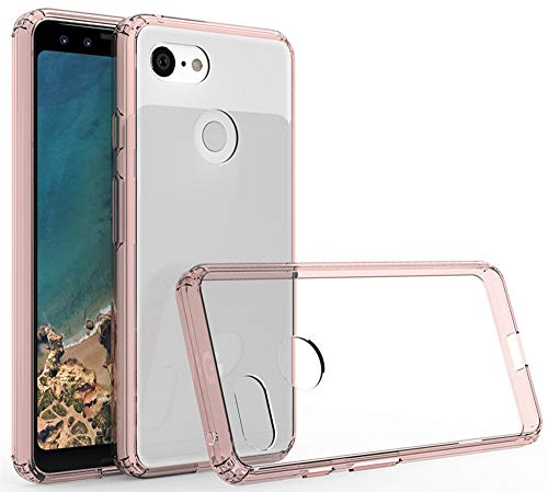 Google Pixel 3 Case,Yiakeng Waterproof Wallet Slim Soft Protection Phone Cases for Google Pixel 3 (Rose Gold)