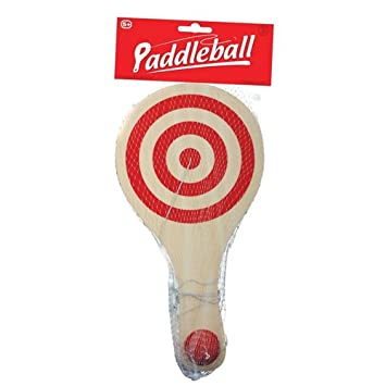 Wooden Paddle Ball Game Tobar Wooden Paddle Ball Amazoncouk Toys Games 37