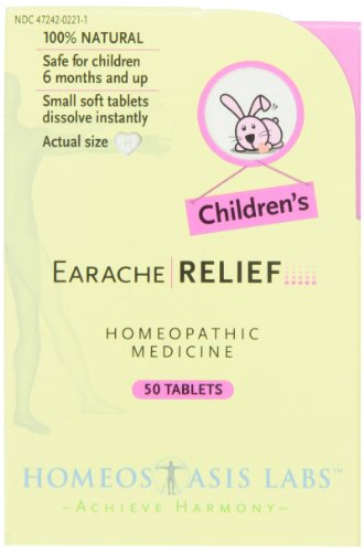 Homeostasis Labs Children's Earache Relief, - Earache Reliever Pain