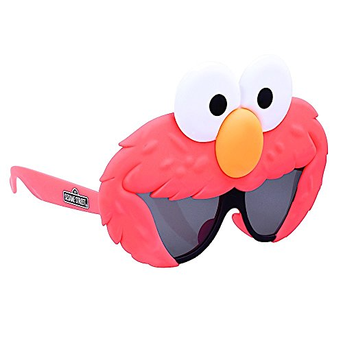 Costume Sunglasses Lil' Characters Elmo Sun-Staches Party Favors UV400