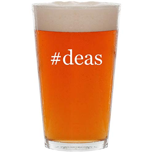 #deas - 16oz Hashtag All Purpose Pint Beer Glass