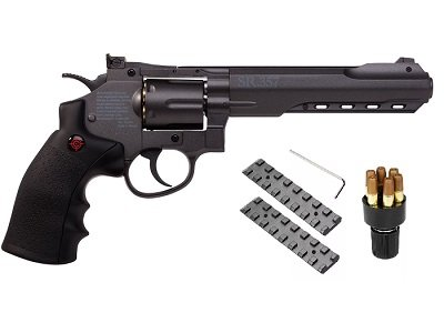 Crosman SR 357 Revolver Black pistol