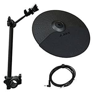 alesis nitro cymbal expansion set 10 inch cymbal cymbal arm rack clamp and 10ft. Black Bedroom Furniture Sets. Home Design Ideas