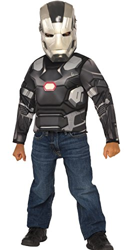War Machine Marvel Costume (Marvel Captain America: Civil War Boxed Machine Muscle ChestShirt)