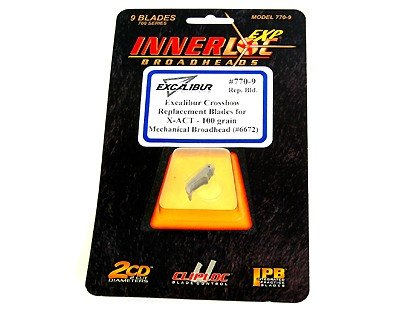Excalibur Replacement Blades for X-Act Mechanical Broadhead, 100gr, - Replacement 100gr