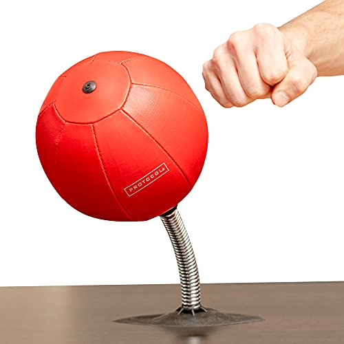 Protocol Desktop Punching Bag – Stress Relieving, red