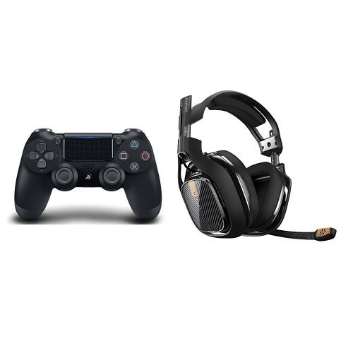 DualShock-4-Wireless-Controller-Black-ASTRO-Gaming-A40-Headset-Black