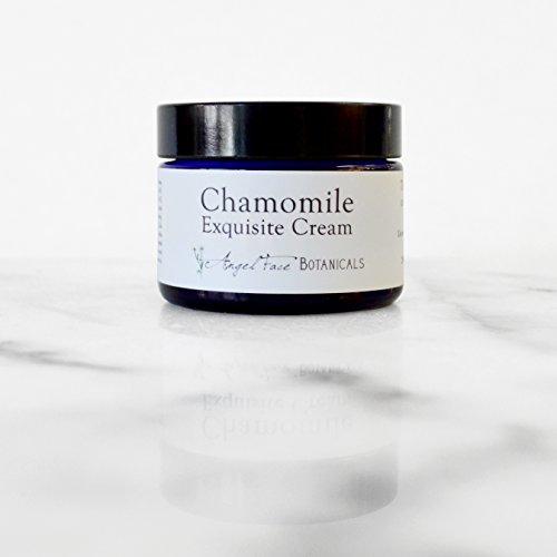 Chamomile Face (Chamomile Exquisite Antioxidant Facial Cream, Organic Face Moisturizer 1.25 oz)