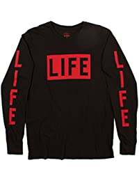 "<span class=""a-offscreen"">[Sponsored]</span>Life Logo Long Sleeve Tee Black by"