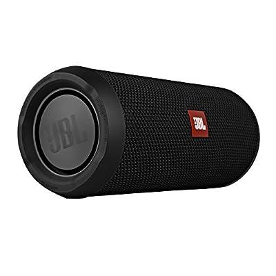 JBL Flip 3 Splashproof Portable Bluetooth Speaker, Black (Certified Refurbished)
