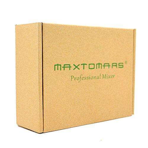 Amazon.com: MAXTOMARS? N8 4 Stereo / 8 Mono Channel, Mini Mixer 8 ...