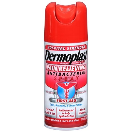 DERMOPLAST ANTIBACTERIAL SPRAY 2.75OZ MEDTECH [Health and - Spray Antibacterial
