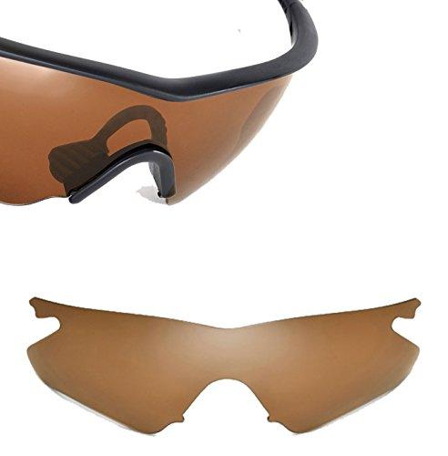 Best SEEK OPTICS Replacement Lenses Oakley M FRAME HEATER Asia Fit - Polarized Bronze - Frame Oakley M Cheap