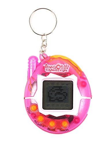 Zekpro Child Nostalgic Tamagotchi Electronic Virtual Cyber Tiny Pet Toy Game Machine (Transparent)