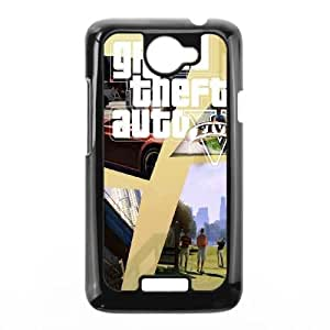 GTA 5 Golf Scene Poster HTC One X Cell Phone Case Black phone component RT_356280