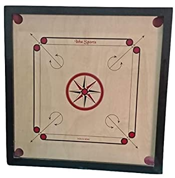 Generic Carrom Board by Rahul Sports (Large 30 Inc)