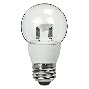 TCP LED5E26G1627K LED Bulb, G16 E26, 5W (40W Equiv.) - Dimmable - 2700K - 300 Lm.