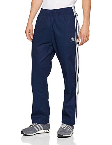 adidas Originals Men's Cotton Woven Track Pants (Small, Collegiate Navy)