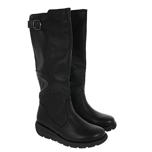 Heavenly Feet Saturn 2 Long Boots Black YCE4xpJAsf