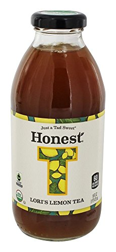 on Tea, 16 oz (Organic Fair Trade Iced Tea)